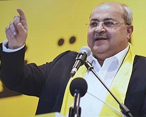 Arab MK Ahmed Tibi, a former adviser to Yasser Arafat
